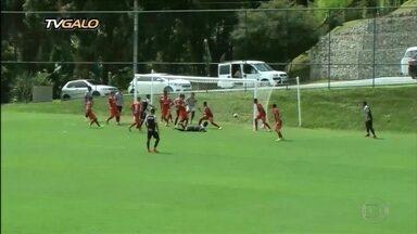 Galo faz, contra o Guarani de Divinópolis, o último teste antes da estreia no Mineiro - Galo faz, contra o Guarani de Divinópolis, o último teste antes da estreia no Mineiro