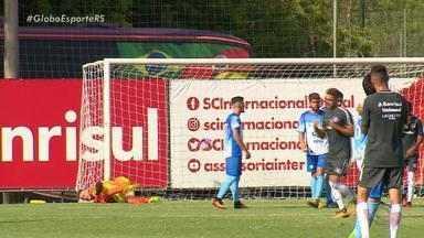 Inter faz jogo teste contra o Lajeadense em preparo para a estreia no Gauchão - O técnico colorado Odair Hellmann elogiou a atuação dos jogadores.