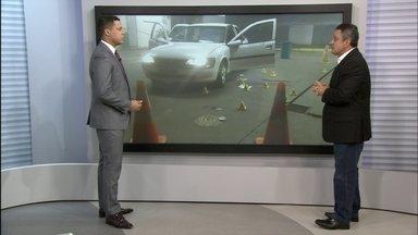 Polícia investiga possível execução em Ceilândia - Daniel Lorenz ressalta que o veículo permite escolher o momento de abordagem e execução.