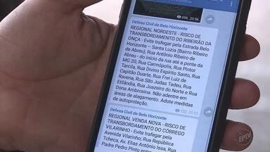 Moradores podem se inscrever para receber alertas de desastres naturais em Minas Gerais - Moradores podem se inscrever para receber alertas de desastres naturais em Minas Gerais