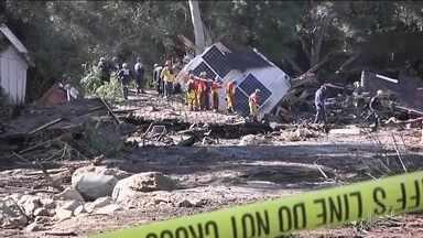Sobe para 20 o número de mortos nos deslizamentos de terra na Califórnia - Equipes de resgate procuram quatro desaparecidos.
