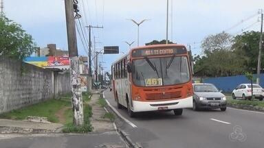 Manaus registra média de 10 assaltos a ônibus por dia, aponta Sinetram - Foram cerca de 10 registros de roubos por dia. Balanço foi divulgado nesta segunda-feira (15).