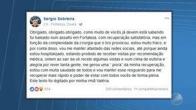 Professor da UFBA se recupera bem após ser baleado no Ceará - Suspeitos de 18 e 21 anos foram presos em Fortaleza. Eles já respondem pelo crime de tráfico de drogas.