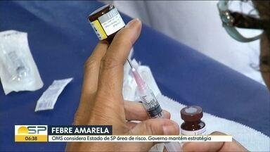 OMS inclui todo o estado de São Paulo em área de risco de febre amarela - Foram confirmadas 21 mortes pela doença em um ano.