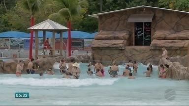Os cuidados com banhos em rios e piscinas - Os cuidados com banhos em rios e piscinas