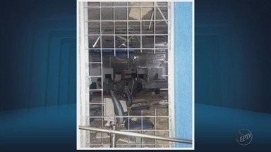 Criminosos explodem caixas eletrônicos em Santana do Jacaré, MG - Criminosos explodem caixas eletrônicos em Santana do Jacaré, MG