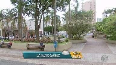 Confira a previsão do tempo em São Sebastião do Paraíso, MG - Confira a previsão do tempo em São Sebastião do Paraíso, MG