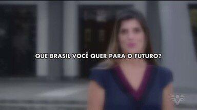 Que Brasil você quer para o futuro? Veja como enviar o seu vídeo - Esse ano tem eleições para a escolha do novo presidente do Brasil e queremos ouvir o que os eleitores esperam para o futuro.