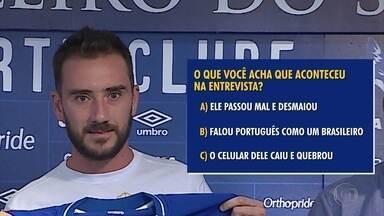 Novo reforço do Cruzeiro, argentino Mancuello surpreende na primeira entrevista - Novo reforço do Cruzeiro, argentino Mancuello surpreende na primeira entrevista