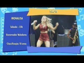 Confira as dicas do MG Cultura para o final de semana - Taty Meira se apresenta em Governador Valadares.