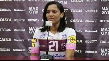 Ex-Botafogo-PB, atacante Lu é apresentada pela Ferroviária - Jogadora vai defender o time paulista na temporada 2018.