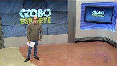 Globo Esporte CG: confira a íntegra do Globo Esporte desta sexta-feira (19.01.18) - Marcos Vasconcelos apresenta os principais destaques do esporte paraibano.