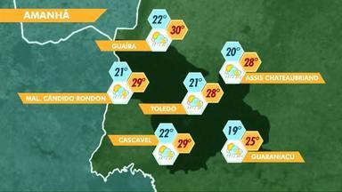 Previsão de chuva para o fim de semana - Mesmo com tempo fechado, o sábado e o domingo vão ser abafados.