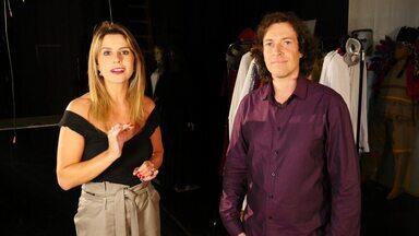 Daiane Fardin foi a Apucarana conhecer Semi Salomão - Cineasta tem 11 filmes no currículo