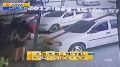 Polícia conclui investigação de agressão a idoso em Joinville - Polícia conclui investigação de agressão a idoso em Joinville