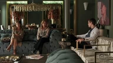 Gael e Lívia estranham o interesse de Sophia no julgamento de Duda - Ela diz que se importa com tudo que acontece em Pedra Santa