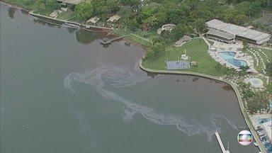 Justiça determina substituição da caldeira do Hran - E o GDF também vai ter que arcar com os danos ambientais causados pelo vazamento de óleo no Lago Paranoá.