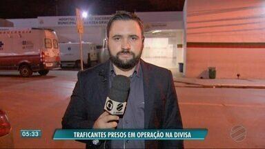 Homens são presos em Barra do Garças, suspeitos de tráfico de drogas - Homens são presos em Barra do Garças, suspeitos de tráfico de drogas