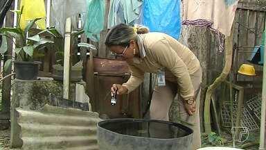 Agentes de endemias são fundamentais no combate aos mosquitos transmissores de doenças - Equipes vão de casa em casa passando orientações e alertando moradores para cuidados com recipientes que acumulem água.