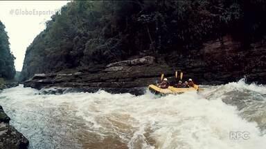 Eu Atleta Verão radicaliza de rafting no belo canion de Jaguariaíva - Terceiro episódio mostra aventura, nível alto e muita beleza no pedacinho do cerrado paranaense