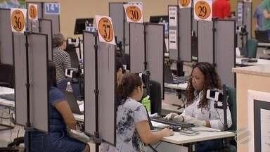TRE aumenta postos de atendimento para ampliar cadastro biométrico em Campo Grande - Mais de 200 mil pessoas da capital ainda não fizeram o cadastro biométrico para as eleições deste ano.