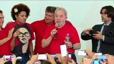 STJ nega habeas corpus pedido pela defesa de Lula - Defesa queria impedir que ex-presidente cumpra pena depois de esgotados os recursos na 2ª instância. Presidente do STF, Cármen Lúcia, comenta.