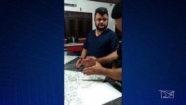 Médico é preso após negar socorro a recém-nascido em Pinheiro - Segundo a polícia, Paulo Roberto Penha Costa alegou que não atenderia paciente de outro município.