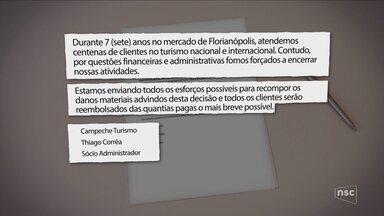 Agência de turismo de Florianópolis é investigada por vender pacotes falsos - Agência de turismo de Florianópolis é investigada por vender pacotes falsos
