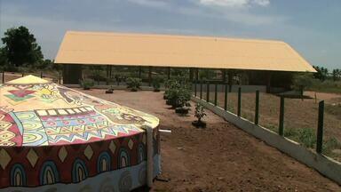 Cisterna leva água e conforto para escola do Agreste de Alagoas - Projeto do Instituto Terra Viva melhorou as condições de escola rural.