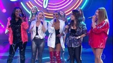Grupo Rouge canta e meninas comentam o retorno aos palcos - Grupo estava parado e retornou as atividades em 2017