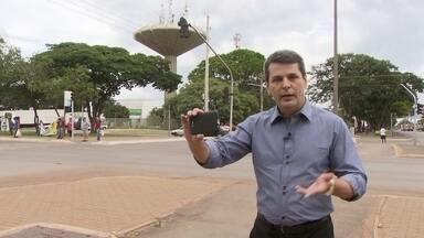 Brasil que eu quero: Fábio William mostra como gravar seu vídeo - Repórter Fábio William esteve em um ponto turístico de Ceilândia para mostrar como gravar seu vídeo contando o que espera para o futuro do país.