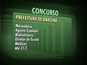 Confira as oportunidades de concursos no Oeste Paulista - Interessados devem se inscrever pela internet.