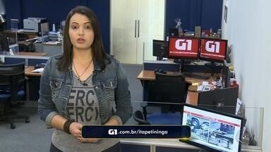 Paola Patriarca traz os destaques do G1 Itapetininga e Região - Um dos destaques do G1 é sobre um rastreamento feito por celular que ajudou a polícia a encontrar um carro roubado em Itararé.