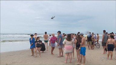 Esquema de segurança será reforçado no litoral para o Carnaval - O número de afogamentos aumentou e mais bombeiros vão descer para as praias.