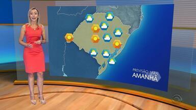Tempo: quinta-feira (8) tem previsão de umidade baixa e sem chuva durante o dia - Assista a previsão do tempo.