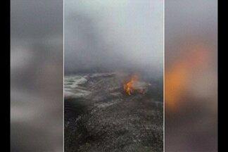 Três pessoas morrem em queda de avião de pequeno porte em Itaituba no Pará - Força Aérea Brasileira (FAB) confirmou a queda de um avião.
