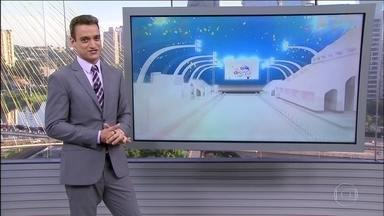 Primeira noite de desfile das escolas de samba de SP será sem chuva - Norte e Nordeste devem ter chuva forte nesta sexta-feira. O dia começa quente no Sul, Sudeste e Centro-Oeste, com previsão de chuva na parte da tarde.