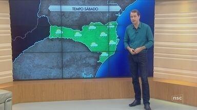 Confira a previsão do tempo para o fim de semana de carnaval em SC - Confira a previsão do tempo para o fim de semana de carnaval em SC