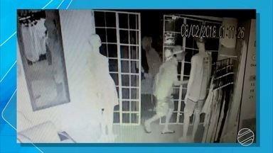Ladrão furta roupas de loja em Campo Grande - Furto foi na madrugada de quinta-feira (8), na Vila Santa Luzia.