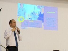 Ministro da Saúde visita hospitais e ouve prefeitos em Passo Fundo, RS - Representantes de municípios da região tiveram a oportunidade de apresentar demandas ao Ministro
