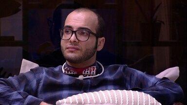 Mahmoud para Ayrton: 'Estou com medo de ir com vocês' - Mahmoud para Ayrton: 'Estou com medo de ir com vocês'