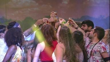 Diego convida brothers para brinde na Festa Amazônia - Diego convida brothers para brinde na Festa Amazônia