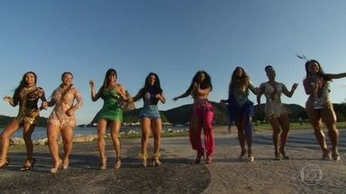 Fantástico reúne rainhas de bateria de escolas de samba do Rio - Se a bateria é o coração de uma escola, elas são as donas desse coração.Rainhas levam para o carnaval a luta de todas as mulheres.
