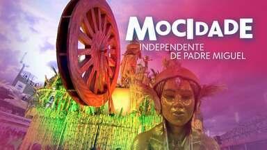 Mocidade Independente de Padre Miguel - Grupo Especial (RJ) - Íntegra de 11/02/2018 - O enredo 'Namastê... A essência que habita em mim saúda a que existe em você' mostra a influência da Índia no Brasil.