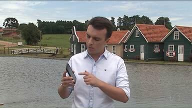 Que Brasil você quer para o futuro? Grave um vídeo e mande pra gente! - O repórter André Salamucha mostra como gravar o vídeo.