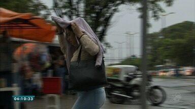 Chuva marca quarta-feira de cinzas em todo o estado - Saiba mais em g1.com.br/ce