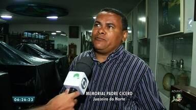 Memorial Padre Cícero fecha para reformas em Juazeiro do Norte - Saiba mais em g1.com.br/ce