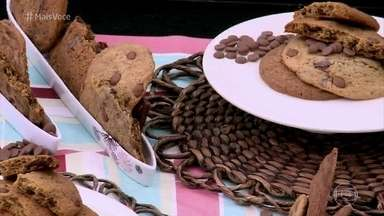 Cookie Gigante de Chocolate - Ana Maria Braga recebe a chef Paula Prandini para aprender a receita do clássico cookie americano