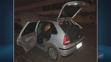 Concessionária é furtada em Americana na madrugada desta quinta - Segundo a PM, suspeitos quebraram vidros de 23 carros e levaram os estepes. Por enquanto ninguém foi preso.