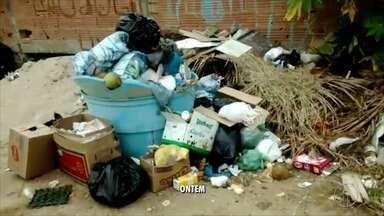 Bairro Monte Alto de Arraial do Cabo, RJ, recebe coleta de lixo após reclamações - Bairro estava sem colheita desde do começo do carnaval.
